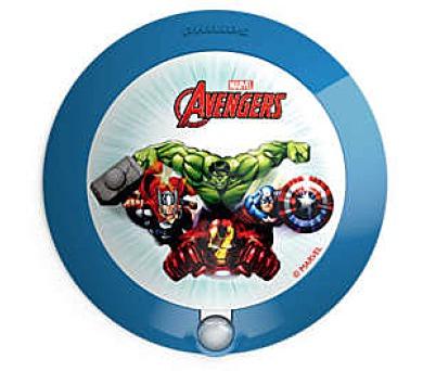 Disney Avengers NOČNÍ SVÍT. SE SENZOREM LED 0,06W bez baterií Massive 71765/35/P0