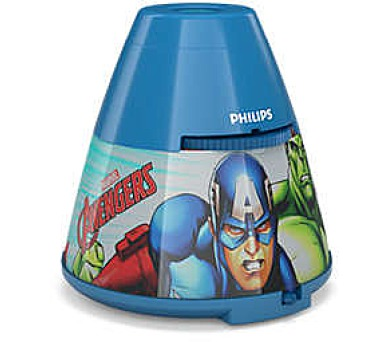 Disney Avengers PROJEKTOR LED 0,1W bez baterií Massive 71769/35/P0
