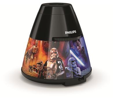 Disney Star Wars PROJEKTOR LED 0,1W bez baterií Massive 71769/30/P0