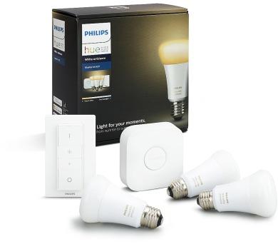 Philips Hue white ambiance 9.5W A60 E27 set EU 8718696728925