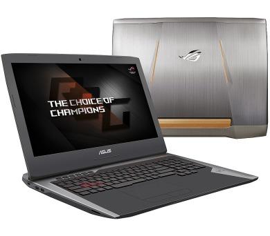 "ASUS G752VS(KBL)-BA263T i7-7700HQ/8GB+8GB/256GBSSD M.2+1TB 7200 ot./DVDRW/GeForce GTX1070/17.3"" FHD LED matný/W10 Home + DOPRAVA ZDARMA"