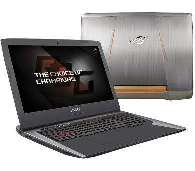 "ASUS G752VS(KBL)-BA369T i7-7820HK/16GB+16GB/2x256GB SSD M.2+1TB 7200 ot./DVDRW/GeForce GTX1070/17.3"" FHD LED matný/W10 H + DOPRAVA ZDARMA"