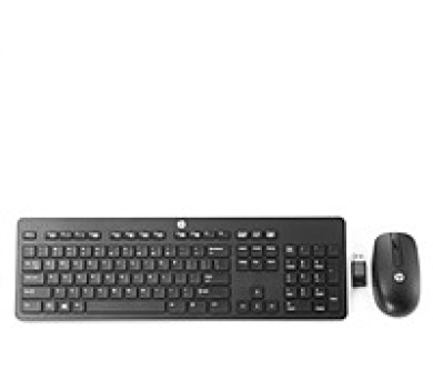 HP Wireless Business Slim Keyboard and Mouse (N3R88AA#AKB)