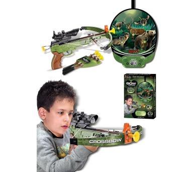 G21 Kuše pistolová s terčem se zvířaty elektronická
