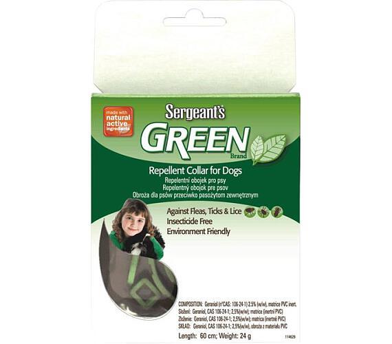 Sergeanťs Green repelentní obojek pro psy 60 cm