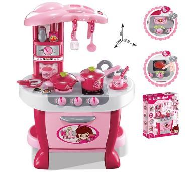 G21 Malá kuchařka s příslušenstvím růžová