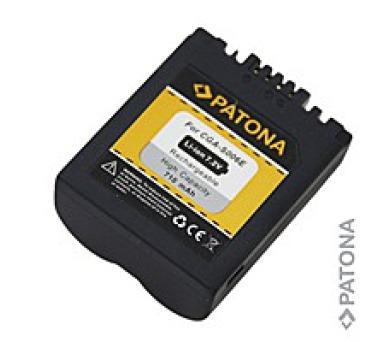 Patona fotobaterie pro Panasonic CGA-S006E 710mAh