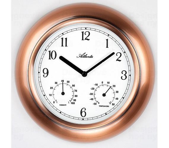 Designové nástěnné hodiny AT4446 + DOPRAVA ZDARMA