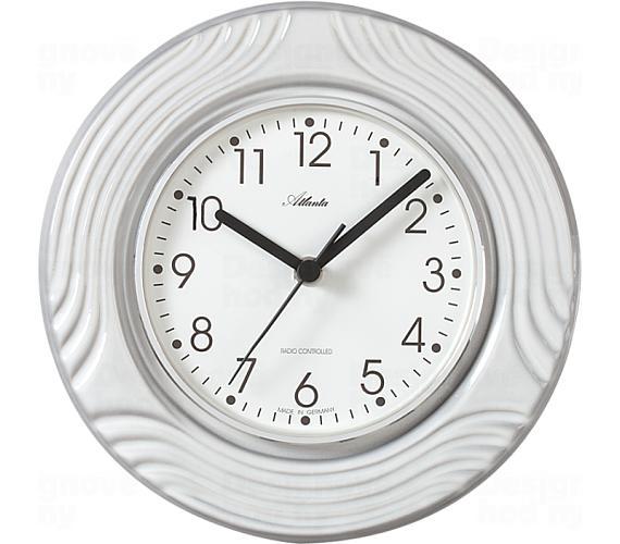 Designové nástěnné keramické hodiny AT6021 řízené signálem DCF + DOPRAVA ZDARMA