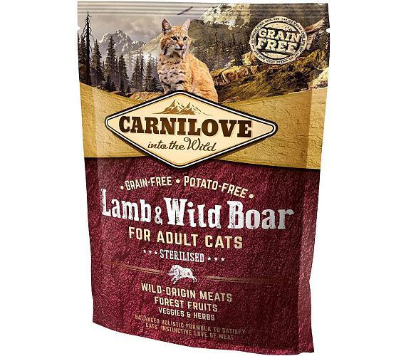 Carnilove Cat Adult Lamb & Wild Boar Grain Free Sterilised 0,4 kg