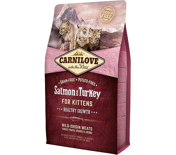Carnilove Cat Kitten Salmon & Turkey Grain Free 2 kg