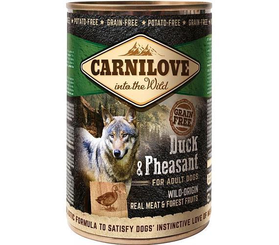 Carnilove WM konz. Duck & Pheasant Grain Free 400 g