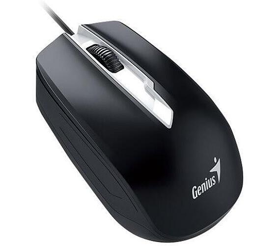 Genius DX-180/ drátová/ 1000 dpi/ USB/ černá