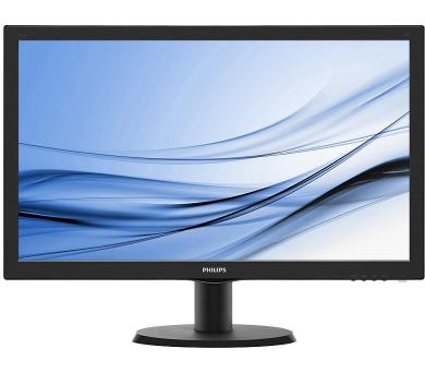 """Philips LCD 243V5LHAB5 23,6""""wide/1920x1080/1ms/10mil:1/250cd/VGA/DVI/HDMI/repro/LED + DOPRAVA ZDARMA"""