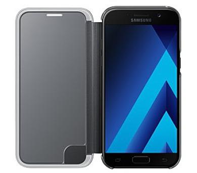 Samsung flipové pouzdro Clear View EF-ZA520CBE pro Samsung Galaxy A5 2017,černá (EU Blister) + DOPRAVA ZDARMA