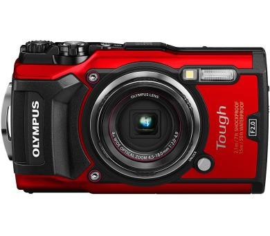 Olympus TG-5 Red + DOPRAVA ZDARMA