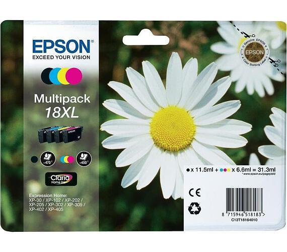 Epson Multipack 4-colours 18XL Claria Home Ink + DOPRAVA ZDARMA