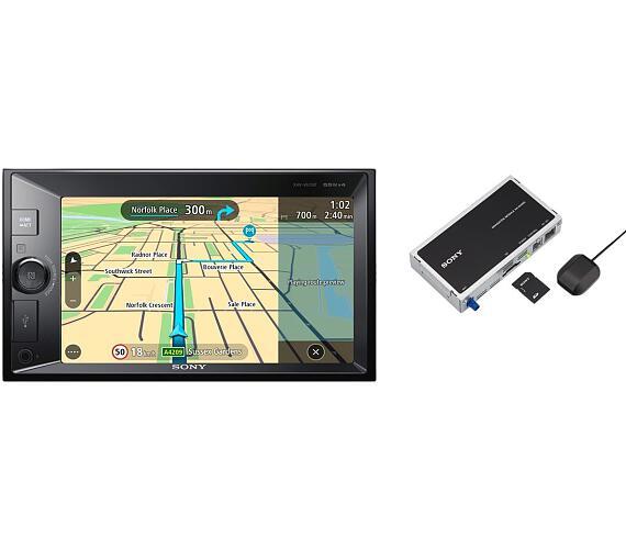 Sony autorádio XNV-KIT100 dot. display BT s nav. + DOPRAVA ZDARMA
