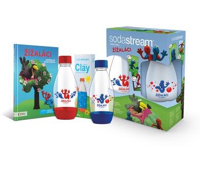 Sodastream Dětský set Žížaláci 2 lahve + dárky