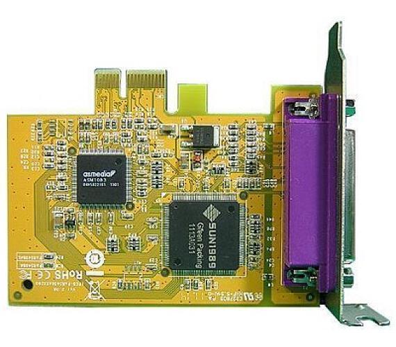 DELL Adaptér pro paralelní LPT port/ PCIe/ poloviční výška/ low profile