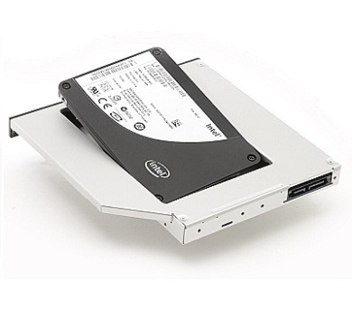 DELL rámeček pro sekundární HDD do Media Bay šachty pro Latitude E6320/ E6330/ E6420/ E6430/ ATG/ E6520/ E6530 + DOPRAVA ZDARMA