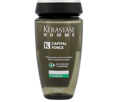 Kérastase Homme Capital Force Shampoo AntiOiliness Effect + DOPRAVA ZDARMA