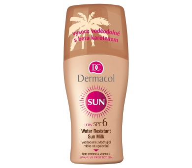 Dermacol Sun Milk Spray SPF6