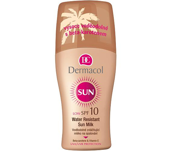 Dermacol Sun Milk Spray SPF10
