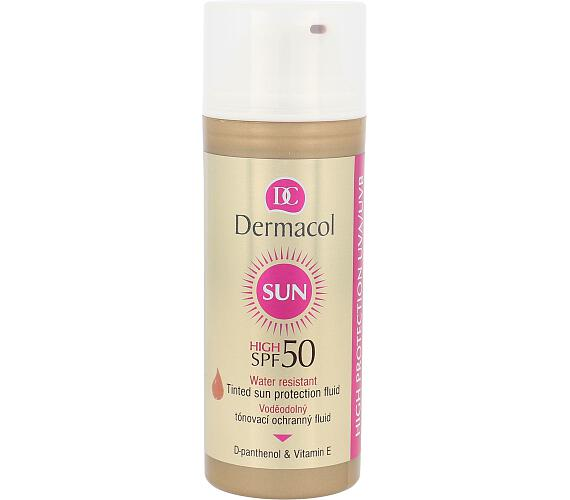Dermacol Sun WR Tinted Sun Protection Fluid SPF50