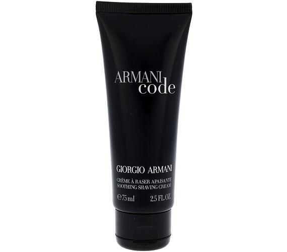 Krém na holení Giorgio Armani Black Code