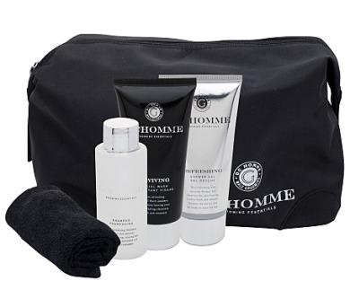 Pánská tělová kosmetika Grace Cole Homme Ultimate Black Pepper Bath Kit