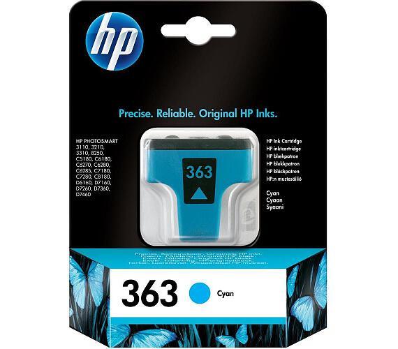 HP (363) C8771EE - ink. náplň cyan