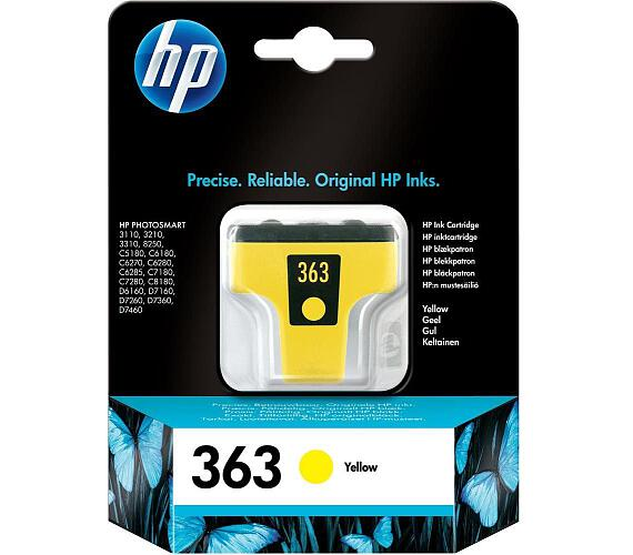 HP (363) C8773EE - ink. náplň yellow