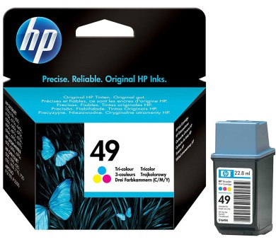 HP (49) 51649AE - ink. náplň barevná + DOPRAVA ZDARMA