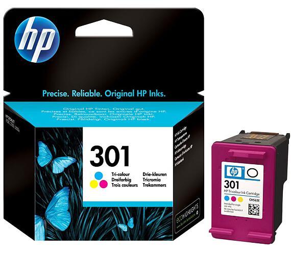 HP (301) CH562EE tříbarevná inkoustová kazeta originál