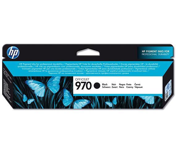 HP (970) černá inkoustová kazeta + DOPRAVA ZDARMA
