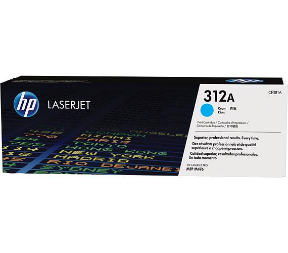HP tisková kazeta CF381A azurová + DOPRAVA ZDARMA