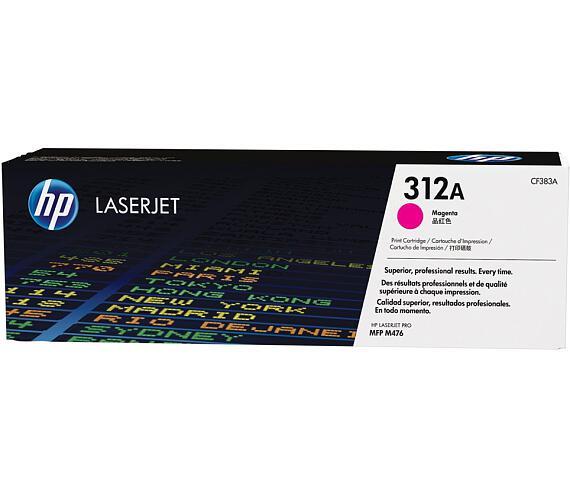 HP tisková kazeta CF383A purpurová