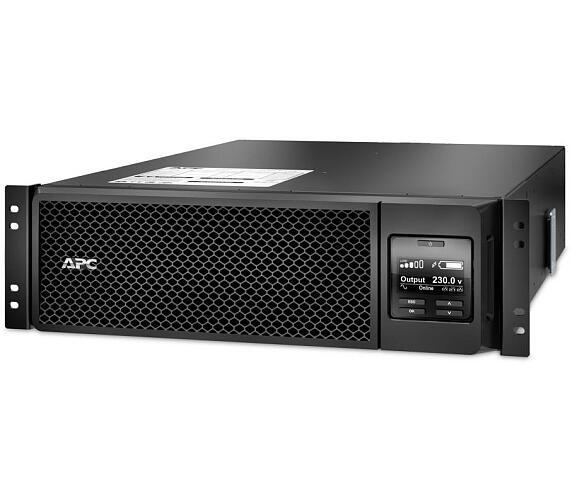 APC Smart-UPS SRT 5000VA (4500W)/ ONLINE/ 3U/ RACK MOUNT/ 230V (SRT5KRMXLI) + DOPRAVA ZDARMA