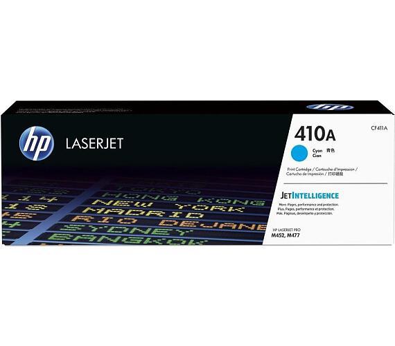HP tisková kazeta 410A azurová originál