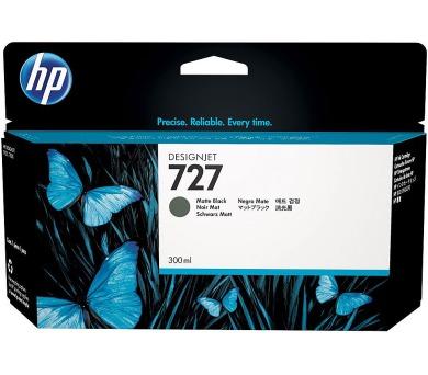 HP cartridge C1Q12A (727) černá matná pro DesignJet - 300ml + DOPRAVA ZDARMA