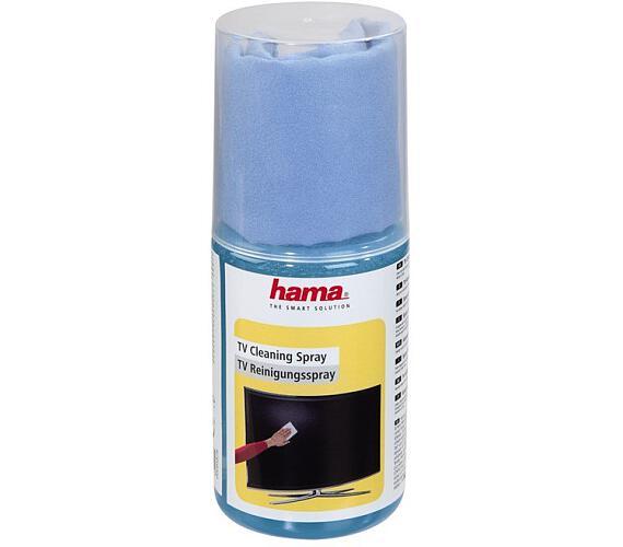 HAMA čisticí sprej na ploché obrazovky/ 200 ml/ včetně utěrky (95878)