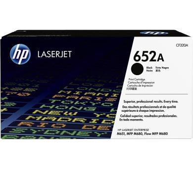 HP tisková kazeta 652A černá originál + DOPRAVA ZDARMA