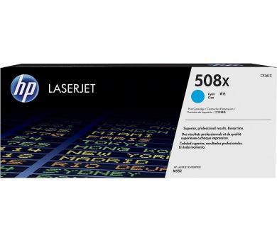 HP tisková kazeta 508x azurová originál + DOPRAVA ZDARMA