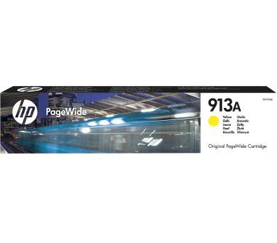 HP inkoustová kazeta 913A žlutá F6T79AE originál + DOPRAVA ZDARMA