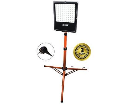LED reflektor s vysokým stojanem + DOPRAVA ZDARMA