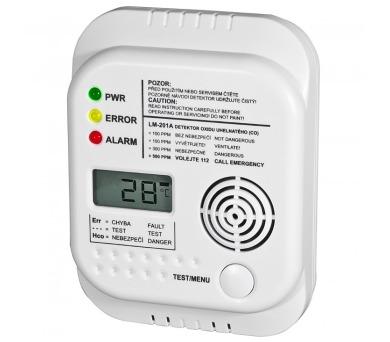 Detektor oxidu uhelnatého (CO)