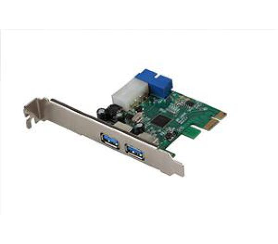 i-tec PCIe Card USB 3.0 2x External+1x int. 20pin (PCE22U3)