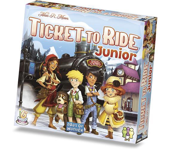 Ticket to Ride Junior + DOPRAVA ZDARMA