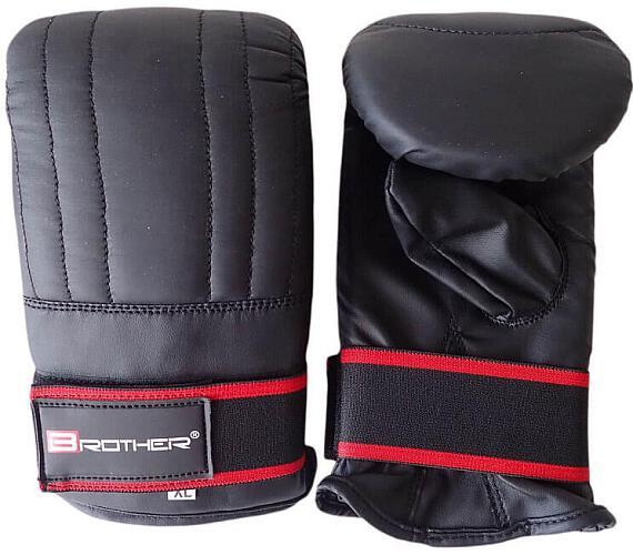 ACRA Boxerské kožené rukavice pytlovky